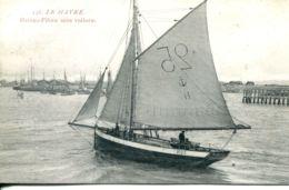 N°68342 -cpa Le Havre -bâteau Pilote Sous Voilure- - Port