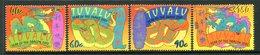 Tuvalu 2001 Chinese New Year - Year Of The Snake Set MNH (SG 990-993) - Tuvalu