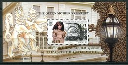 Tuvalu 2001 101st Birthday Of Queen Elizabeth The Queen Mother MS MNH (SG MS1004) - Tuvalu