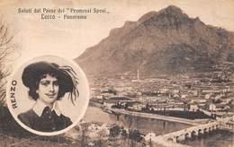 Saluti Dal Paese Dei Promessi Sposi - Lecco - Panorama - Italie - Lecco