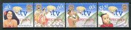 Tuvalu 2001 Inauguration Of .tv ISP - SPECIMEN - Set MNH (SG 1005-1008) - Tuvalu