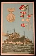 CARTOLINA NAVI CARABINIERI 1910 - Guerra