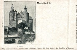 CARTE PUB CHAUSSURE GIBAULT MONTELIARD LE CHATEAU - Montbéliard