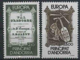 1985 Europa C.E.P.T., Andorra Francese, Serie Completa Nuova (**) - Europa-CEPT
