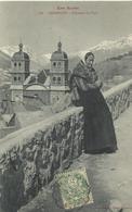 Carte Postale Ancienne Briançoncostume De Pays - Briancon