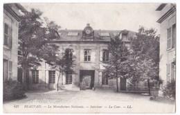Beauvais Cpa La Manufacture Nationale Intérieur  La Cour Anno 1915 - Beauvais