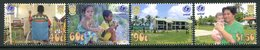 Tuvalu 2002 UNICEF Rights Of The Child Set MNH (SG 1043-1046) - Tuvalu
