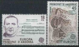 1985 Europa C.E.P.T., Andorra Spagnola, Serie Completa Nuova (**) - Europa-CEPT