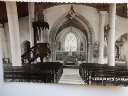 Verrieres Interieur Eglise - France
