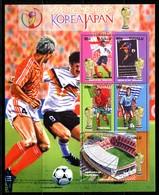 Tuvalu 2002 Football World Cup - Japan & Korea Sheetlet MNH (SG 1053-1057) - Tuvalu