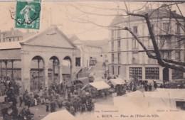 BOEN      PLACE DE L HOTEL DE VILLE. LE MARCHE - Otros Municipios