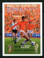 Tuvalu 2002 Football World Cup - Japan & Korea MS MNH (SG MS1058) - Tuvalu