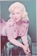 Célébrité :    Photo 15 Par 10 Cm  Env. :  Jayne  Mansfield - Cantantes Y Músicos