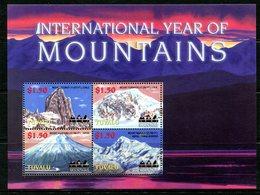Tuvalu 2002 International Year Of Mountains Sheetlet MNH (SG 1072-75) - Tuvalu