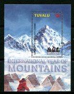 Tuvalu 2002 International Year Of Mountains MS MNH (SG MS1076) - Tuvalu