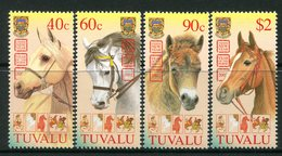 Tuvalu 2003 End Of Chinese New Year - Year Of The Horse Set MNH (SG 1078-1081) - Tuvalu