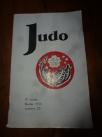 1958 JUDO Massage ;Le O-UCHI-GARI-TAI-OTOSHI ;Technique Au Sol;Pub: Village De Vacance AU GOLF BLEU à Beauvallon Sur Mer - Sport