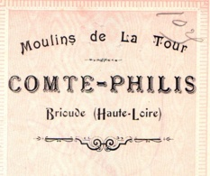 COMTE-PHILIS  Moulin De La Tour  BRIOUDE  Haute Loire 43 - Wechsel