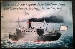 CARTOLINA NAVI INGLESI - Guerra