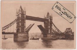 London - Cpa / The Tower Bridge. - River Thames