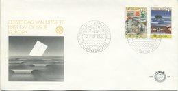 OLANDA  - FDC NVPH 1979 - EUROPA UNITA - CEPT - ANNULLO SPECIALE - FDC