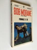 BOB MORANE N° 51_1050   FORMULE X 33   Henri Vernes   Pocket Marabout, 1970 - Fantasy