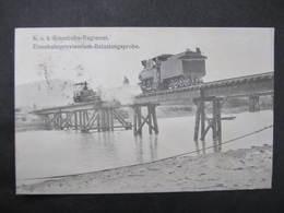 AK KORNEUBURG 1913 Zug Eisenbahn   ////  D*35819 - Korneuburg