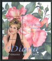 Tuvalu 2003 Fifth Death Anniversary Of Diana, Princess Of Wales MS MNH (SG MS1092) - Tuvalu