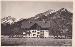 Oberstdorf 1918 Hotel Pension Bergkranz - Oberstdorf