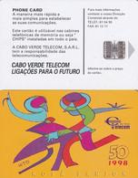 CAPE VERDE(chip) - Kola Sanjon, Used - Cap Vert