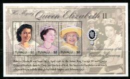Tuvalu 2003 50th Anniversary Of Coronation MS (2) Set MNH (SG MS1098-1099) - Tuvalu