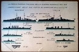 FLOTTE ITALIA-AUSTRIA - Guerra