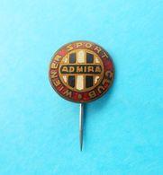 FC ADMIRA WACKER MODLING - Austria Football Soccer Club Vintage Enamel Pin Fussball Abzeichen Osterreich Wien Vienna - Voetbal