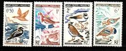 ST PIERRE ET MIQUELON / SERIE DE 4 TIMBRES OISEAUX - Collections, Lots & Series