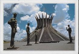 BRASILE - BRASILIA - LA CATTEDRALE - EDIZ DE AGOSTINI - Brasilia
