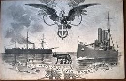 CORAZZATA ROMA - Guerra