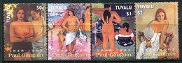 Tuvalu 2004 Death Centenary Of Paul Gaugin Set MNH (SG 1117-1120) - Tuvalu