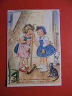 CARTE GERMAINE BOURET 16X10 CM J'AI PAS L'ASCENSEUR - Bouret, Germaine