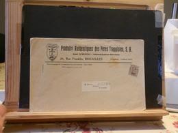 A8287A   LETTRE BELGE PREO   THEME VIN - Roller Precancels 1910-19