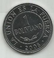 Bolivia 1 Boliviano 2008. - Bolivie