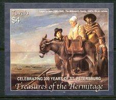 Tuvalu 2004 300th Anniversary Of St Petersburg - Treasures Of The Hermitage MS MNH (SG MS1127) - Tuvalu