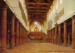 Bethlehem - Church Of Nativity - Basilica - Formato Grande Viaggiata Mancante Di Affrancatura – E 9 - Israele