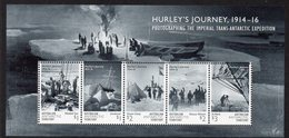 AAT, 2016 HURLEY'S JOURNEY MINISHEET MNH - Unused Stamps