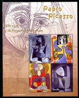 Tuvalu 2004 30th Death Anniversary Of Pablo Picasso MS (2) Set MNH (SG MS1128-1129) - Tuvalu