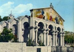 Jerusalem - Gethsemane Churck - Formato Grande Viaggiata Mancante Di Affrancatura – E 9 - Israele