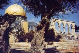 Jerusalem - The Dome Of The Rock - Formato Grande Viaggiata – E 9 - Israele