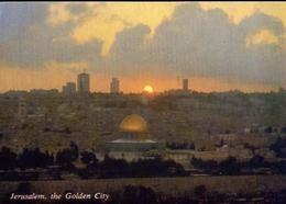 Jerusalem - The Golden City - Formato Grande Viaggiata – E 9 - Israele