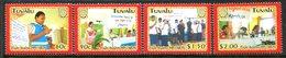 Tuvalu 2004 AIDS Awareness Set MNH (SG 1130-1133) - Tuvalu
