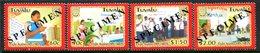 Tuvalu 2004 AIDS Awareness - SPECIMEN - Set MNH (SG 1130-1133) - Tuvalu
