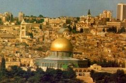 Jerusalem - Theold City - Viewed From The Mt. Of Oliva - Formato Grande Viaggiata – E 9 - Israele